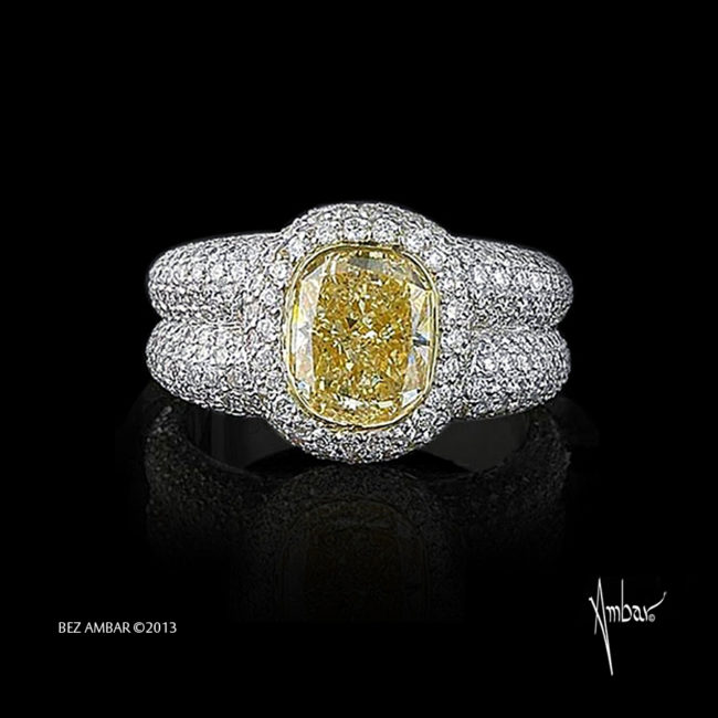 Fancy-yellow-Superball-ring