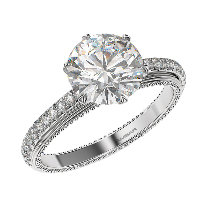 engagement w shaped rings ring pear setting z